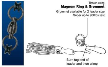 Immagine di Pro-Magnum Ball Bearing Ring Swivel -50% OFF