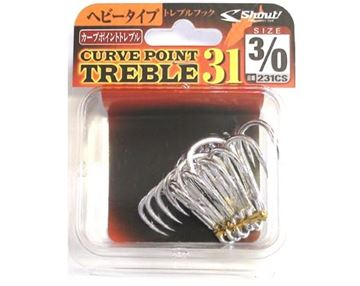 Immagine di Curve Point Treble 31 231CS