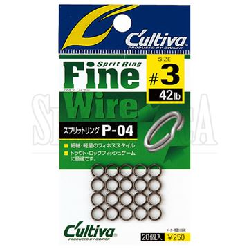 Immagine di Split Ring Fine Wire P-04