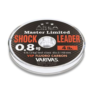 Immagine di Super Trout Area Master Limited Shock Leader VSP Fluorocarbon