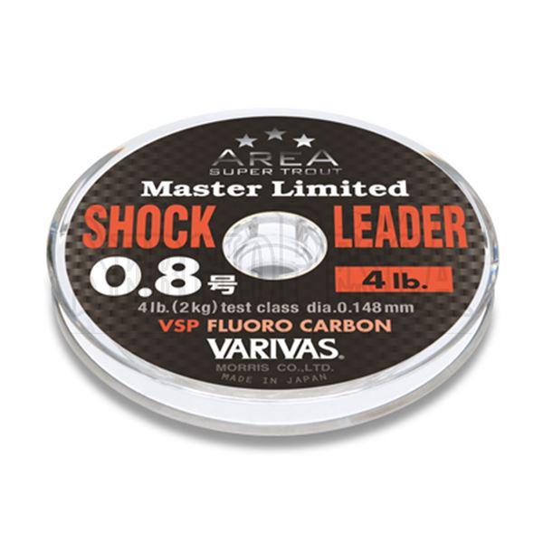 Immagine di Super Trout Area Master Limited Shock Leader VSP Fluorocarbon