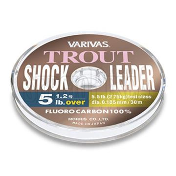 Immagine di Trout Shock Leader Fluorocarbon 100% NEW
