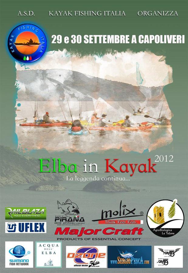 Elba in Kayak 2012