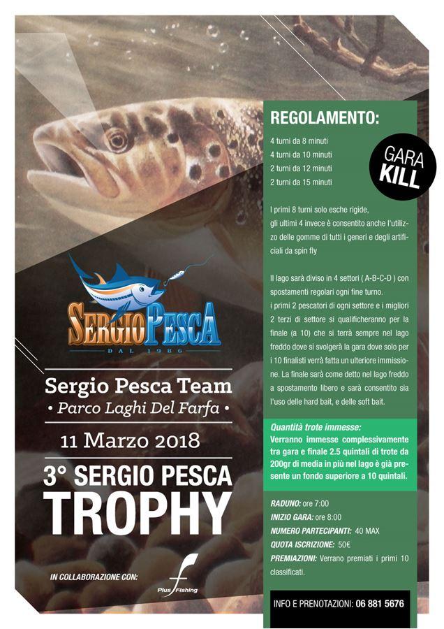 3° Sergio Pesca Trophy