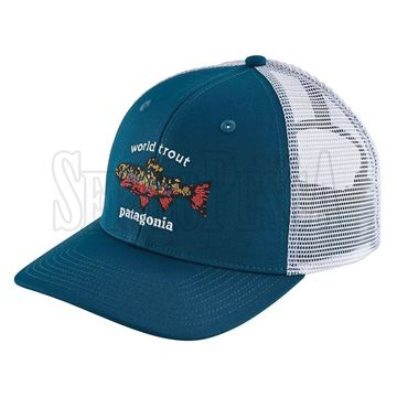 Immagine di World Trout Brook Fishstitch Trucker Hat