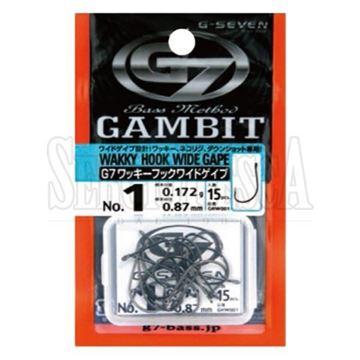Immagine di Gambit Wacky Hook Wide Gape