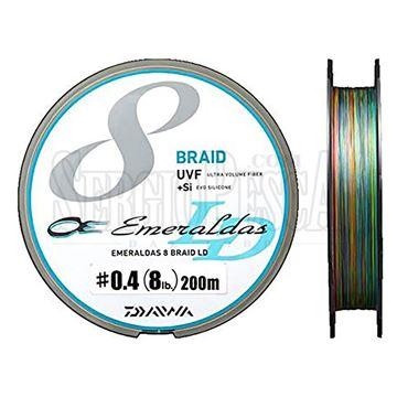 Immagine di UVF Emeraldas Sensor 8 Braid LD +Si