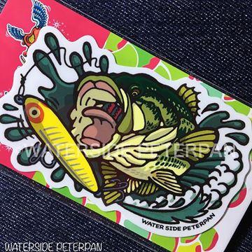 Immagine di BITE Black Bass Sticker