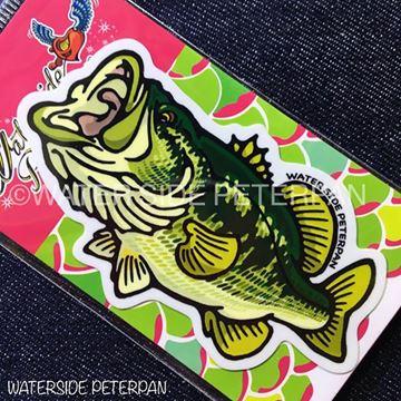 Immagine di Black Bass Sticker