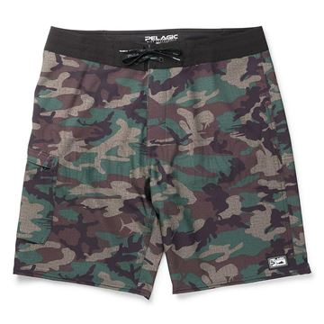 Immagine di Blue Water Camo Fishing Shorts
