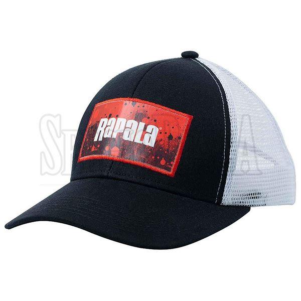 Immagine di Splash Trucker Cap Black/Red