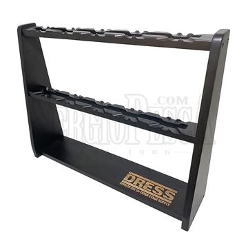 Immagine di Wooden Reel Display Stand